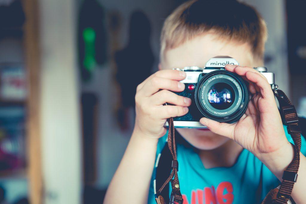 子供とカメラ